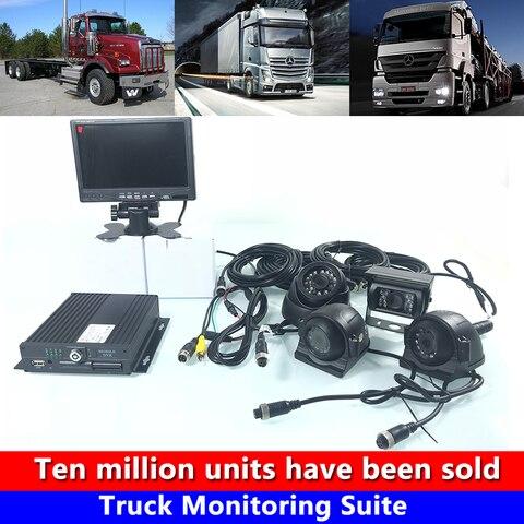 hd audio e video 4 estrada caminhao conjunto de monitoramento de onibus veiculo de engenharia