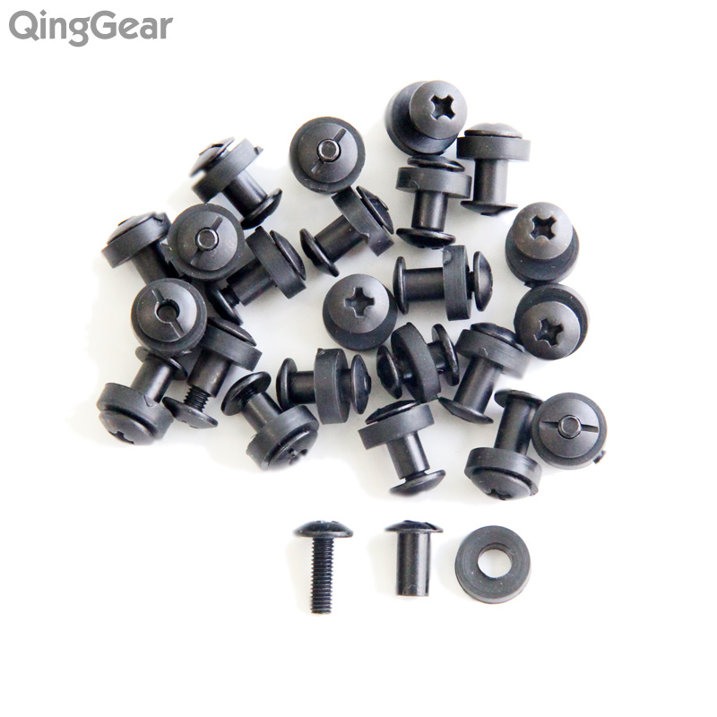 24pcs Tek lok screw set Chicago Screw comes with washer for DIY Kydex Sheath Hand Tool Parts free shipping diy grommet eyelet pliers for clothes shoes hand tools kit setting with 50pcs set eyelets free shipping