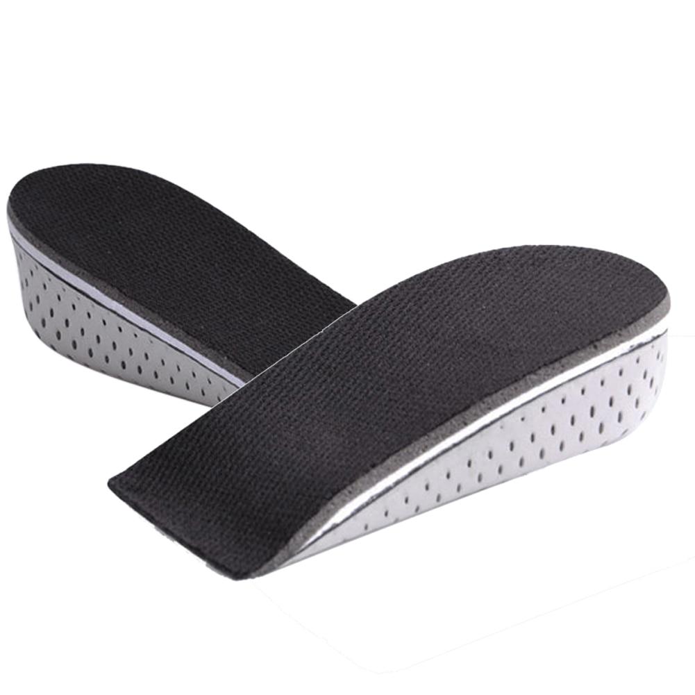 2 Pairs EVA Feet Cushion Foot Heel Cup Elastic Care Half Insole Shoe Pad 4.3cm
