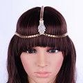Europe and the United States selling Cleopatra a serpentine forehead headdress jewelry
