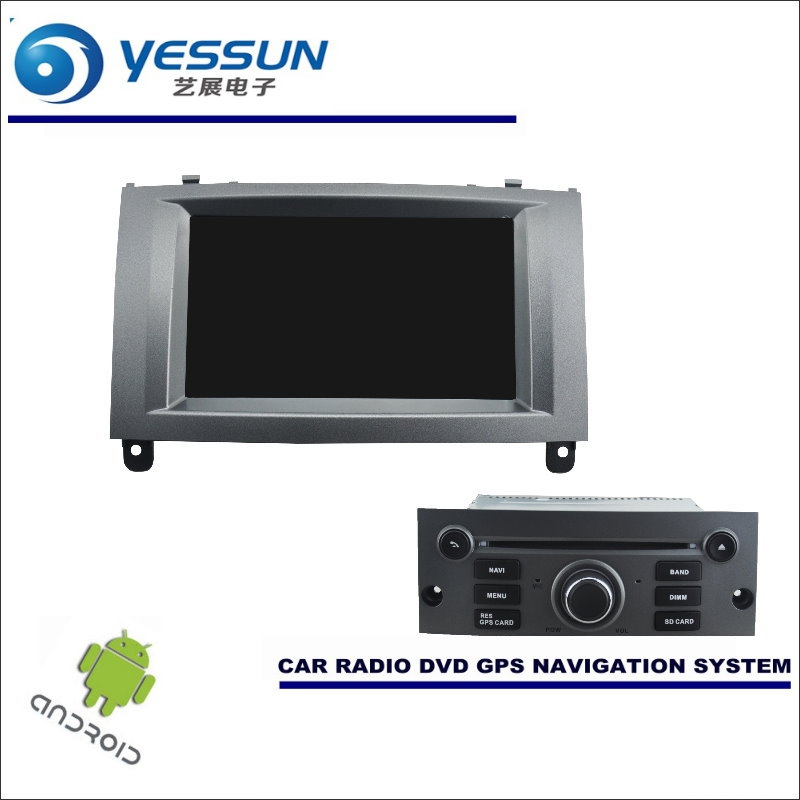 YESSUN Car Android Navigation System For Peugeot 407 2004~2010 - Radio Stereo CD DVD Player GPS Navi BT HD Screen Multimedia yessun for mazda cx 5 2017 2018 android car navigation gps hd touch screen audio video radio stereo multimedia player no cd dvd