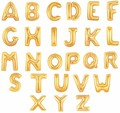 16 inch Gold Silver Alphabet Letters Balloons Foil Balloon Birthday New Year party Wedding Decoration Balloon