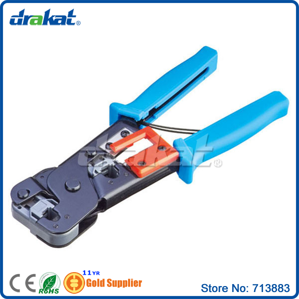 Telephone RJ11 RJ12 6P4P Pin Terminal Crimping Tool