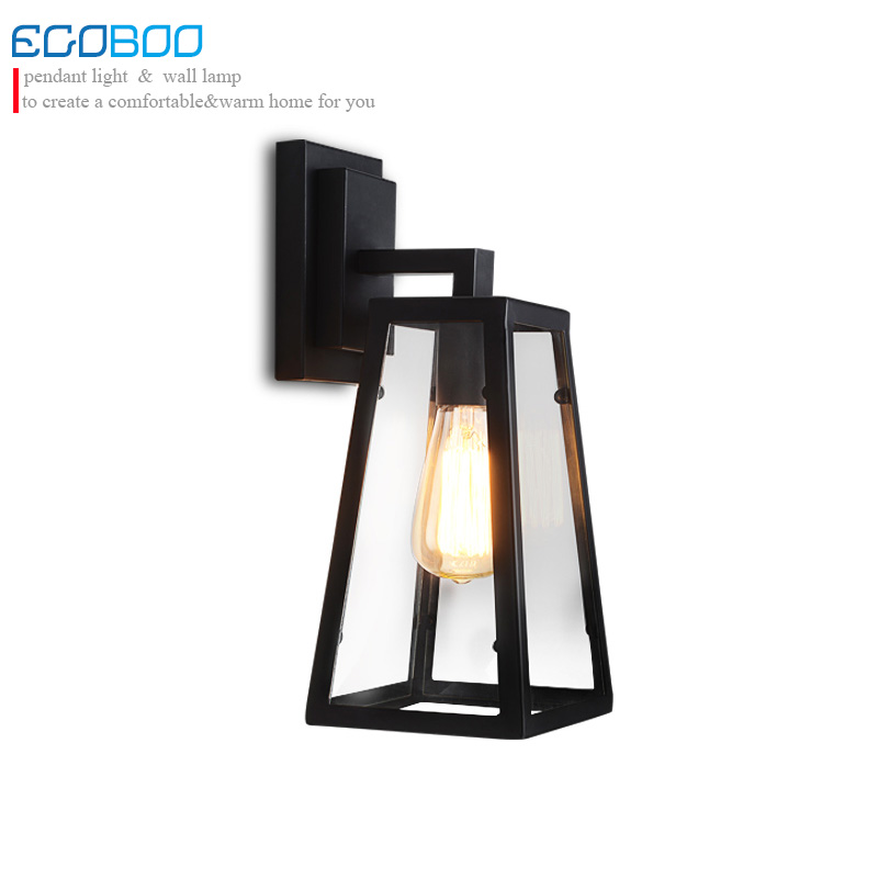 American style modern vintage wall lamps porch building aisle sconce stair cafe living room restaurant wall lights