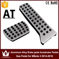 Night Lord Don't need to punch Aluminium Alloy Brake pedal Accelerator Pedals Gas Pedal for Mazda 3 2014-2016