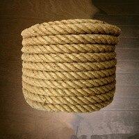 50/20/35/30/40/45 мм Диаметр пользовательские Филлис веревки из натурального джута связали веревкой открытый декоративный канат для ограждений