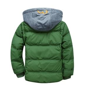 Image 5 - בני חורף מעילי נשלף ילדים חם למטה מעיילי אפוד ילדים סלעית מעיל ילדים עבה תרמית חיצוני להאריך ימים יותר 3 11Y