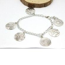 Teen Wolf Triskelion Symbols Bracelet