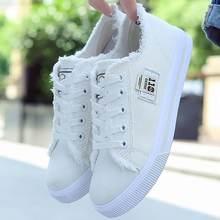 Белая парусиновая обувь для девочек; Дышащая повседневная обувь;
