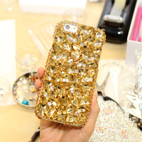 Gold Women 3D Rhinestone Diamond Case For Letv LeEco Le 2 X520 X620 Le2 Pro X25