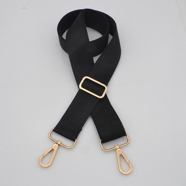 Meetee 3.8cm Black Coffee Nylon Bags Strap Belt for Women Man Backpack Adjustable Shoulder Webbing Handbag Handle Accessories