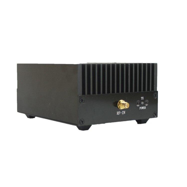 HF Radio Power Amplifier UHF 400-470MHZ 433MHZ 80W Ham Interphone Heatsink Fan