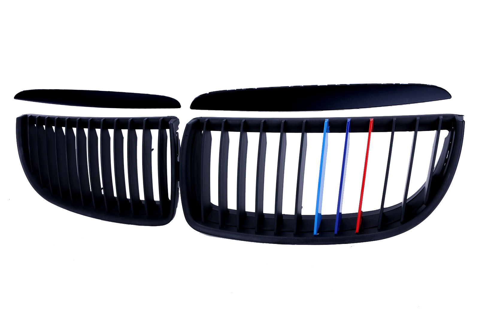 ФОТО Mattle Black for BMW E90 / E91 Front Kidney Grille Grill 2005-2008 330i 325i 320i 328i //