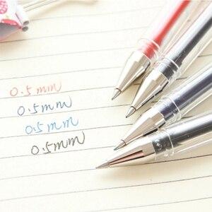 Image 3 - 10 יח\חבילה uni כדור Signo Dx Um 100 ג ל דיו עט 0.5mm חד Mitsubishi שחור/כחול/אדום