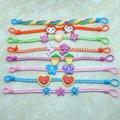Jóias da moda bonito crianças bebê crianças pulseiras de argila do polímero Para A primavera & verão fresco belo presente muitos design 0 CB11