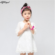 6 Colors New 2016 Casual Children Kids Girl s font b Dresses b font Spring Summer