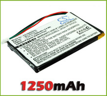 GPS Battery for Garmin Nuvi 200, 200W, 205, 205W 205WT, 250 252w, 265w new free shipping