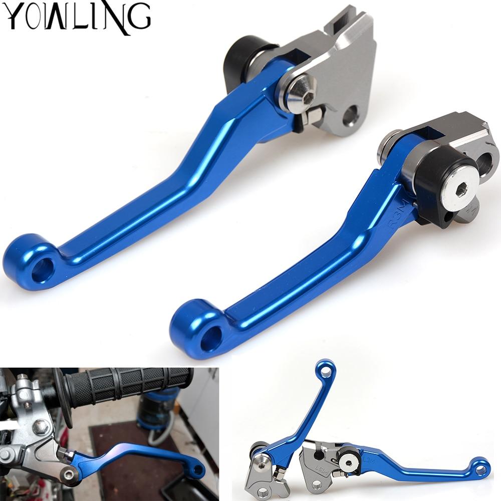 High quality For YAMAHA  YZ250X YZ250FX YZ450FX WR250F WR450F YZ426F YZ250 YZ85 YZ80 CNC Dirt Bike Pivot Brake Clutch lever