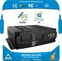 4 Channel GPS 3G EVDO Real Time Full HD 720P AHD Dual SD Card Vehicle Mini