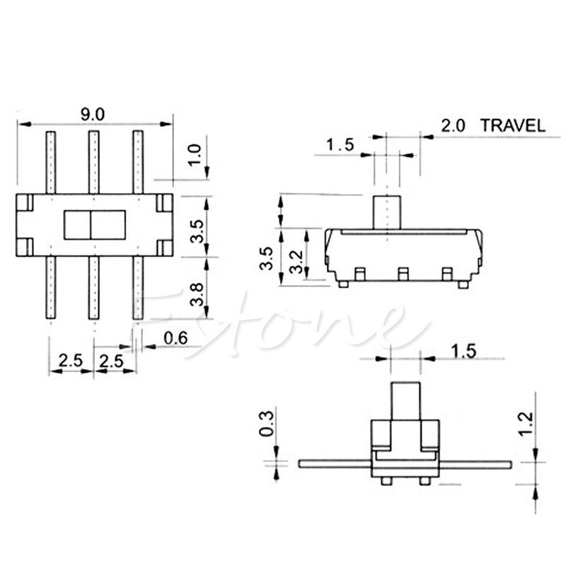 6 pin slide switch wiring diagram trusted wiring diagram rh dafpods co mini toggle switch wiring diagram Basic Electrical Wiring Diagrams