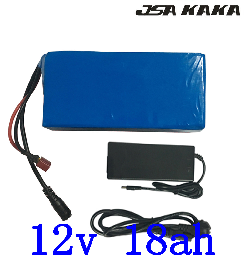<font><b>12V</b></font> <font><b>18AH</b></font> Li-ion Pack <font><b>12V</b></font> 18000MAH <font><b>Lithium</b></font> ebike <font><b>battery</b></font> <font><b>12V</b></font> Electric Bike <font><b>Battery</b></font> for 12 cctv camera with 12.6V 3A Charger image