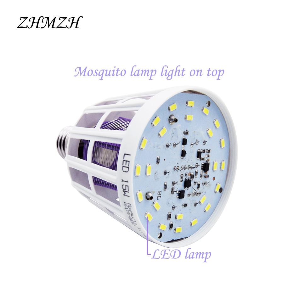Lâmpadas Led e Tubos lâmpada led assassino do mosquito Formato : Globo