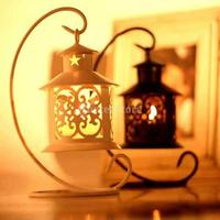 SPMART Moroccan Style Hanging Stand Candle Holder Tea Light Candlestick Free Shipping