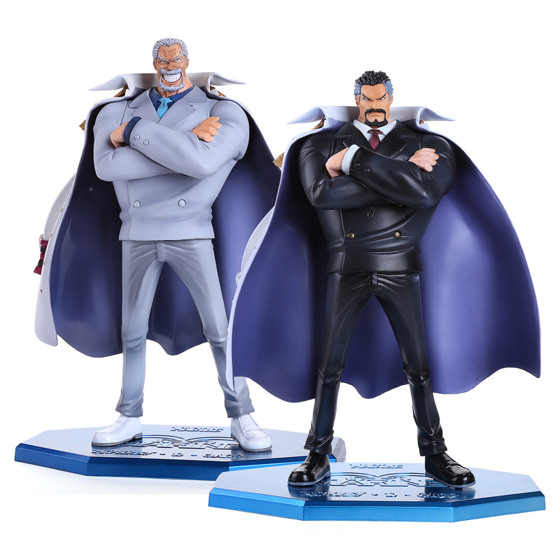 Anime One Piece P.O.P POP Marine Hero Vice Admiral Monkey D. Garp PVC Action Figure Collection Model Toy OPFG425 anime one piece arrogance garp model pvc action figure classic collection garage kit toy doll