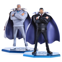 Anime One Piece P.O.P POP Marine Hero Vice Admiral Monkey D. Garp PVC Action Figure Collection Model Toy OPFG425