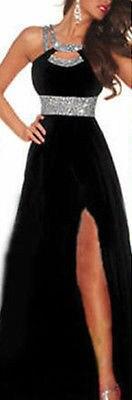 2015 Dress New Bead Long Chiffon Bridesmaid Formal Ball Dress