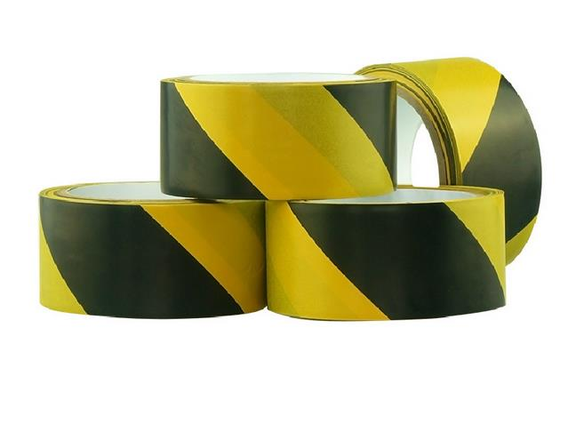 Купить с кэшбэком Corridor Door Factory Workshop Floor Safety Warning Self-adhesive Tape 5cm*17 meters