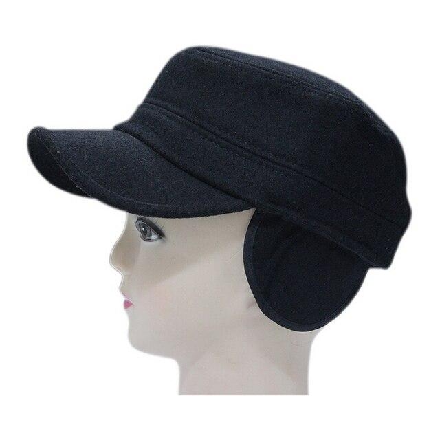 Autunno parasole cappello di inverno super caldo panno di protezione per le  orecchie esercito protezione delle b6c3822042cf