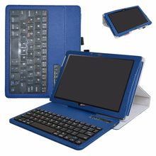 2in1 Removable Bluetooth Keyboard Case For Acer Iconia One 10 (B3-A40) 10.1 inch Tablet(China)