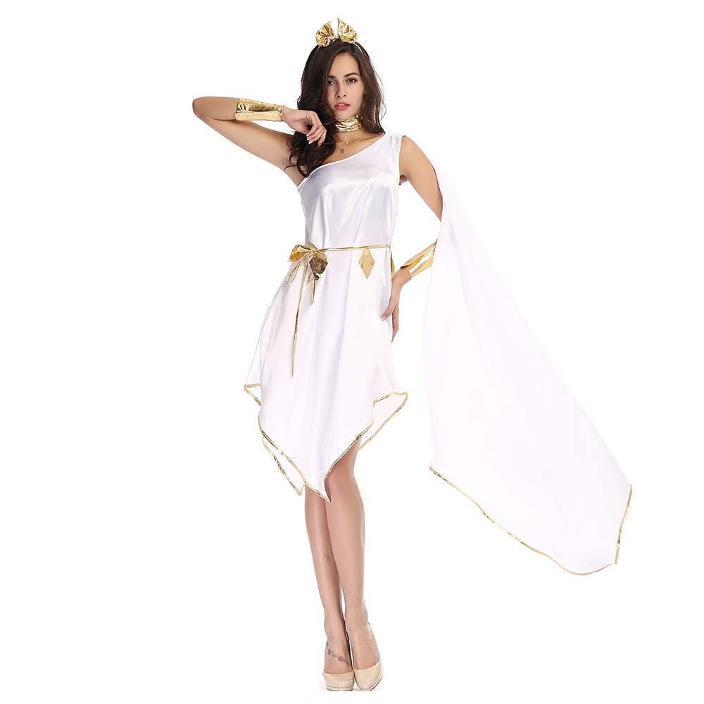 Grecian Goddess White Dress