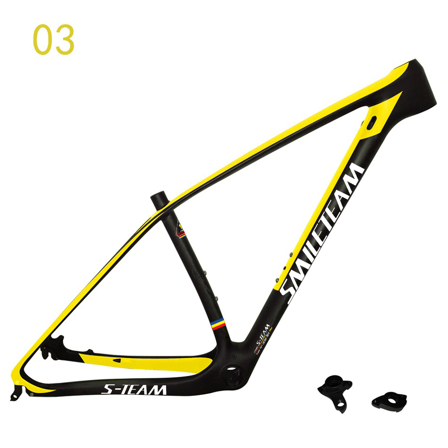 SmileTeam 29er UD Full Carbon MTB Mountain Bike Frame 27.5er/29er MTB carbon bike MTB frame with Axle 142x12mm Bicycle MTB bike