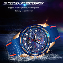 LIGE Watch Top Brand Man Watches with Chronograph Sport Waterproof Clock Military Luxury Mens Analog Quartz