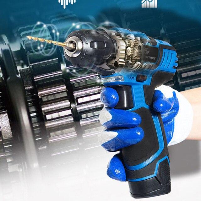 Prostormer12V/3.6V electric drill/screwdriver multifunction handheld convenient woodworking can choose various plugs EU/AU/UK/US 3