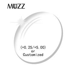 MUZZ 1.56 처방 렌즈 광학 렌즈 디옵터 근시 독서 노안경 Astagmatism 스펙터클 안경 독서 안경 렌즈
