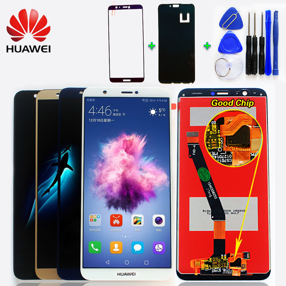 Huawei Lcd-Display Touch-Screen Smart Assembly Digitizer For Free-Tools 7S Enjoy 2160--1080-Frame