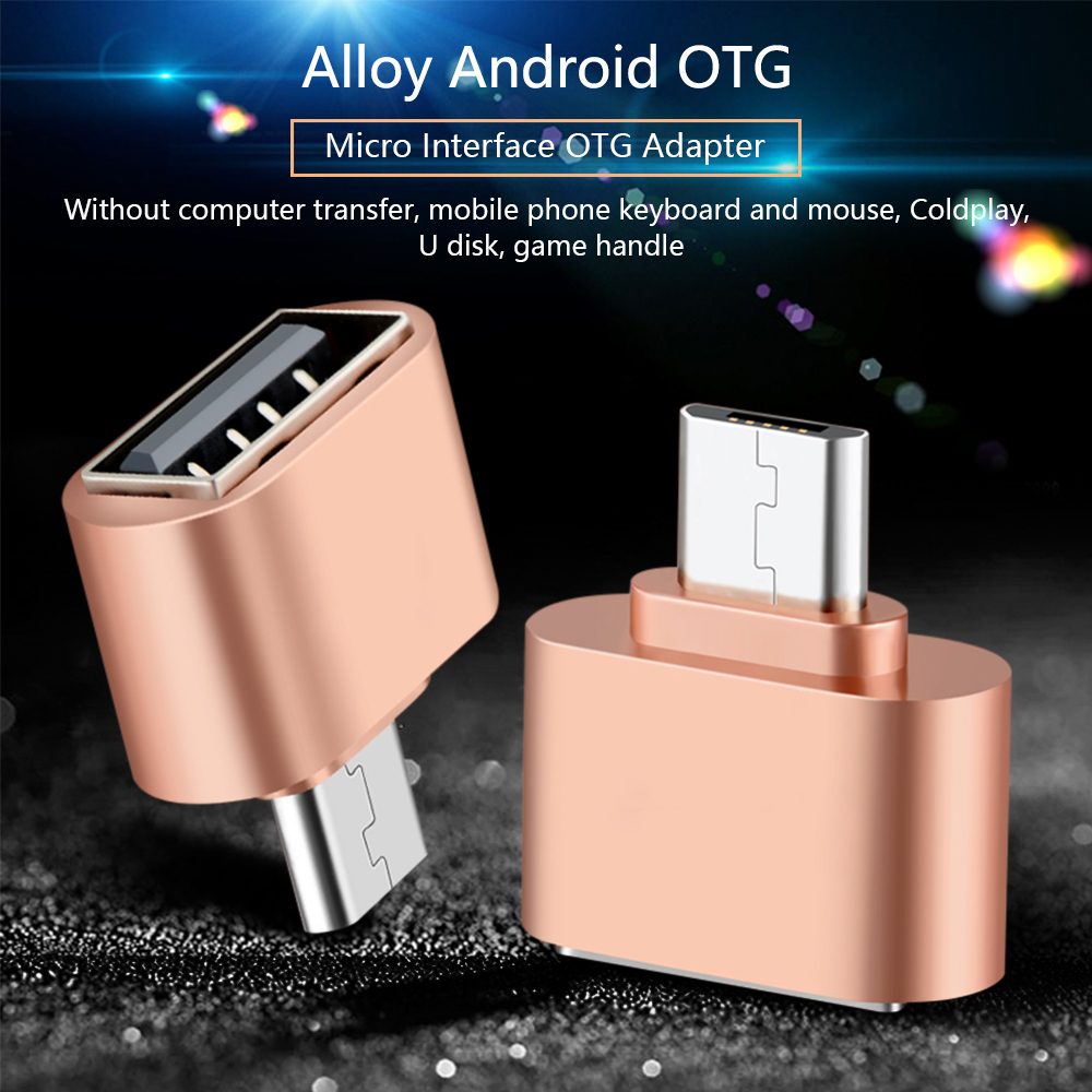 Mini Micro USB OTG Hug Converter Camera Tablet MP3 OTG Adapter For Samsung Galaxy S3 S4 Sony LG Microusb OTG Cable