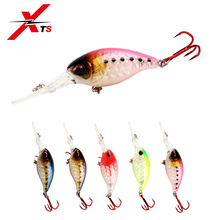 XTS 1PCS Small Minnow Fishing Lure Tackle Floating 50mm 10.5g 5 Colors Artificial Hard Bait Crankbait Iscas 3507