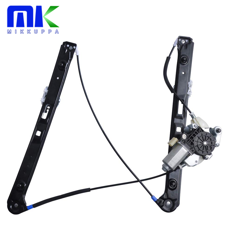 Window Regulator With Motor - For 1999-2005 BMW 3-Series E46, 320i 325i 325xi 330i 330xi 323i 328i - Front Right Passenger Side