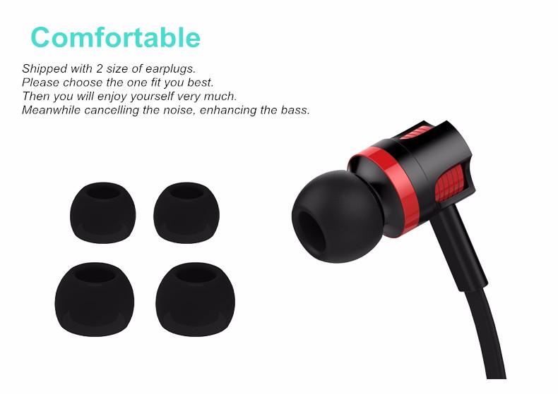 HTB1fAQ2KFXXXXbnXFXXq6xXFXXXk - Original Brand Earbuds JM26 Headphone Noise Isolating in ear Earphone Headset with Mic for Mobile phone Universal