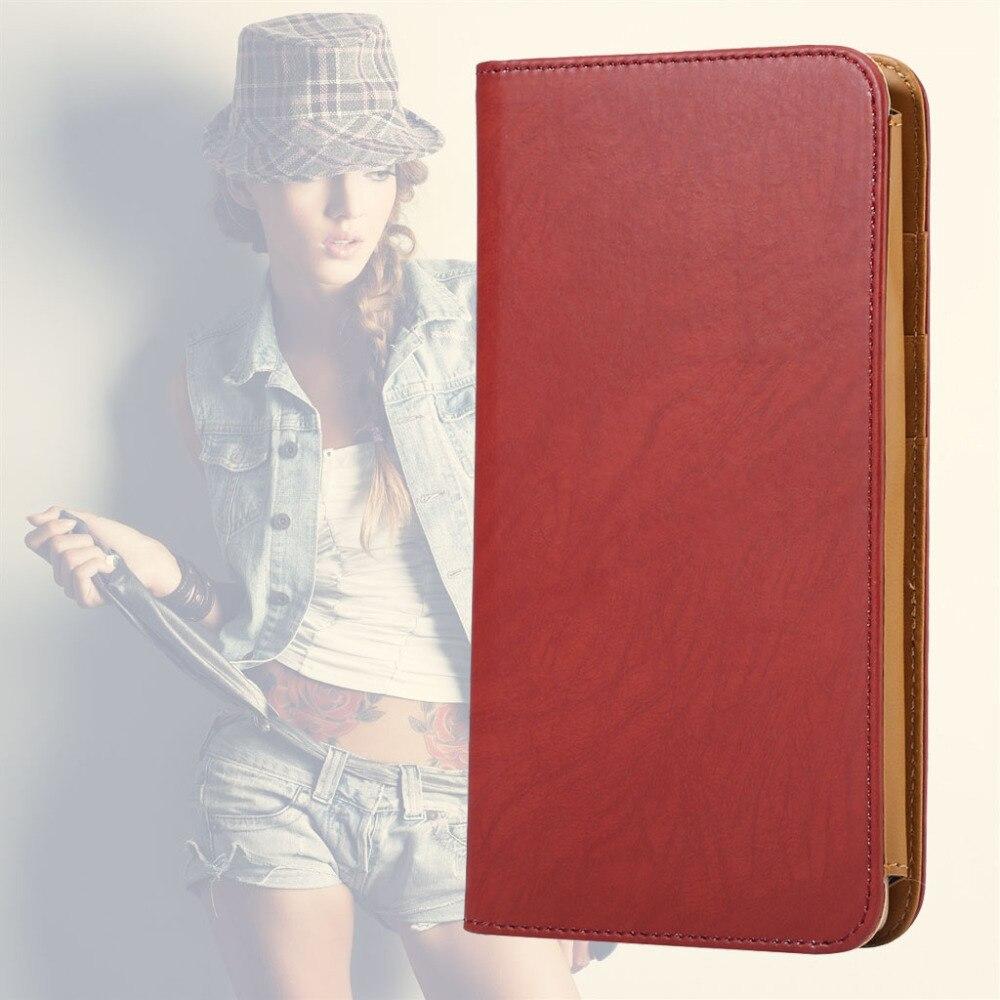 Универсальный Новый высокое качество кошелек кожаный чехол для всех ниже 6.3 дюймов мобильные телефоны роскошные сумки держатель для карт + ...