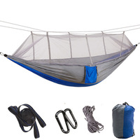 Hammock Swing Mosquito Net Chair Tent Hamaca Hanging Bed Outdoor Camping Terrace Travel Climbing Picnic Equipment 2 3 Person