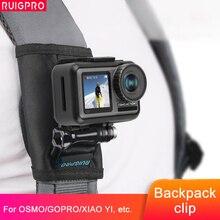 360 grad Rotation Quick Release Rucksack Gürtel Taste Halterung Schnalle Clip Adapter für DJI OSMO Action Kamera