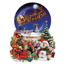 5D DIY Diamond Embroidery Christmas snowman scenic Diamond Painting Cross Stitch full Square Rhinestone Mosaic decoration diamond painting full square owl 5d diy diamond embroidery mosaic picture of rhinestone animal christmas decoration home