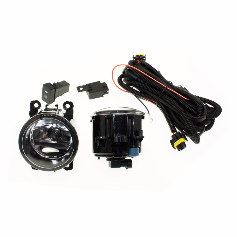 For Lincoln Ls 2005 2006 H11 Wiring Harness Sockets Wire Connector Connectors Switch 2 Fog Lights Drl Front Bumper Halogen Car Lamp In Light Assembly From