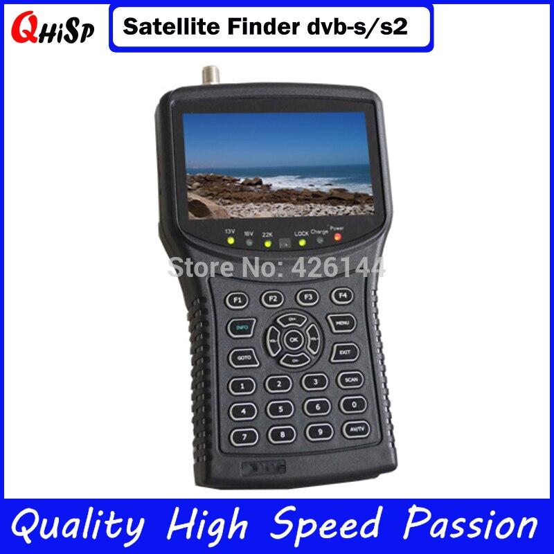 Satlink receptores Икс SKS Finder СБ блюдо для ТВ LNB DVB S2 mpeg4 сигнала Тесты Best приемник адррес digisat Pro метр 955 г; Бесплатная доставка