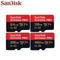 Sandisk флэш-карта 400 ГБ TF карта 128 ГБ Micro SDXC карта 256 ГБ A2 карта памяти UHS-I карта 64 Гб U3 V30 для 4K UHD высокая скорость
